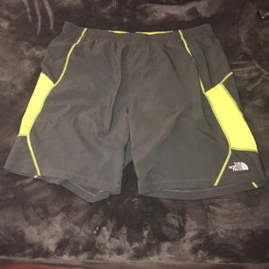 The North Face athletic shorts